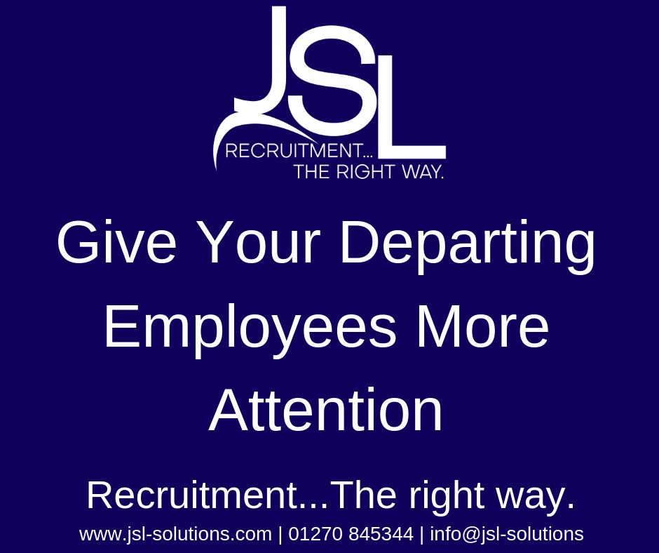Give Your Departing Employees More Attention